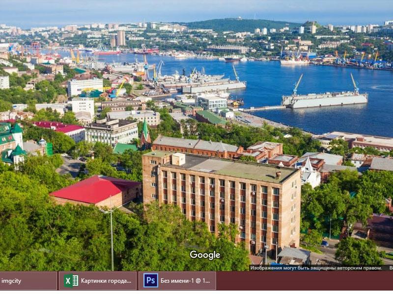 гугл карты владивосток просмотр