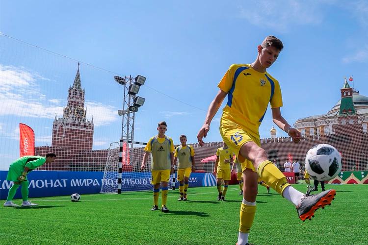 футбол в кремле